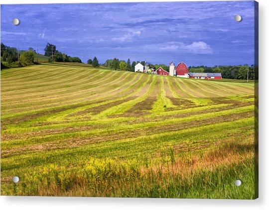 Wisconsin Dawn Acrylic Print