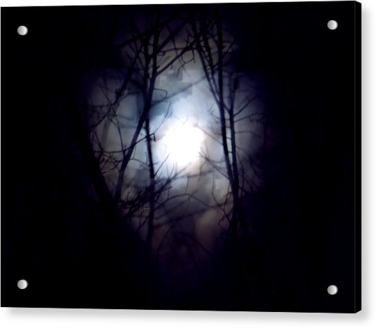 Witch's Moon Acrylic Print