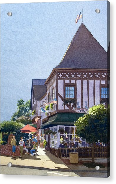 With Friends At Stratford Square Acrylic Print