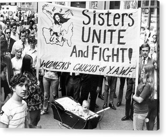 Women's Liberation Gathering Acrylic Print