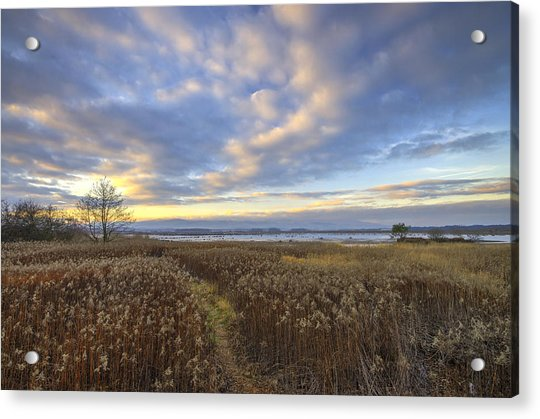 Wonderful Sunset Acrylic Print