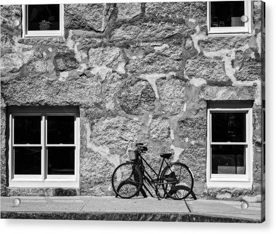 Woods Hole Bike Wall Acrylic Print