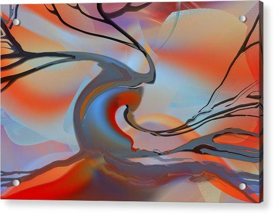 World's End Tree Acrylic Print