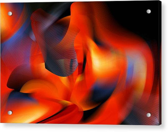 Wow  All That Bright Color Acrylic Print