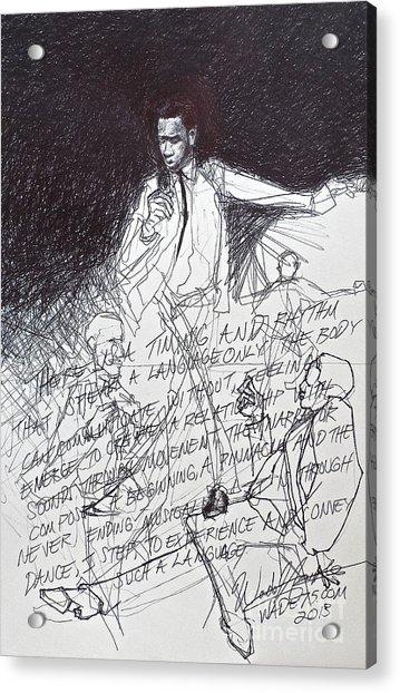 Writings On The Wall Acrylic Print