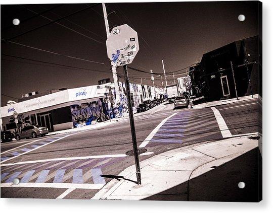 Wynwood Crossing Acrylic Print