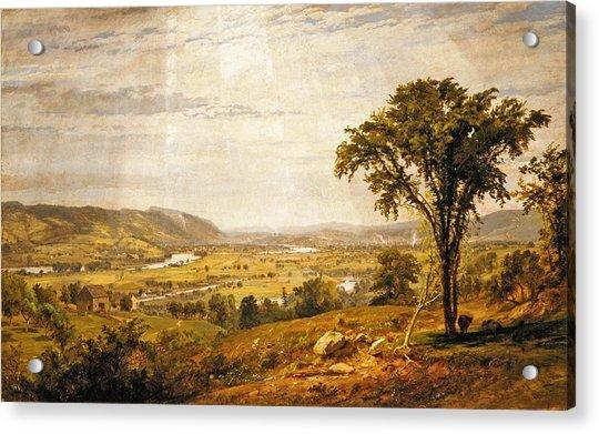 Wyoming Valley. Pennsylvania Acrylic Print