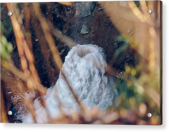 Yahoo Falls Frozen 2 Acrylic Print