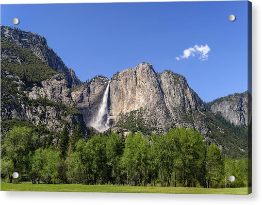 Yosemite Great Falls Acrylic Print