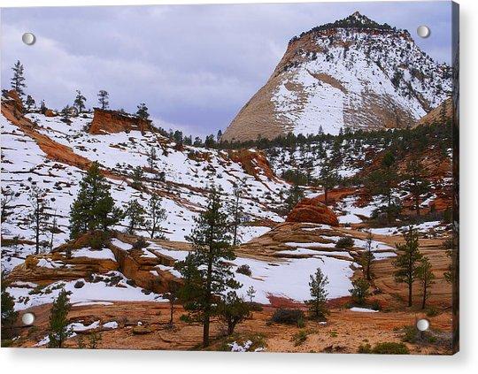 Zion Landscape Acrylic Print