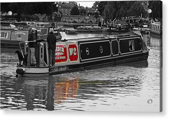 Avon Riverboat Acrylic Print
