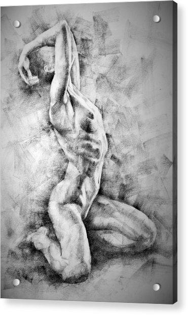 Erotic Sketchbook Page 3 Acrylic Print