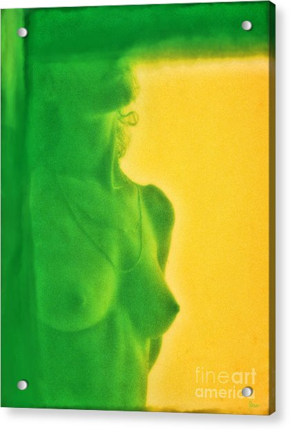 I Dream In Color 3 Acrylic Print