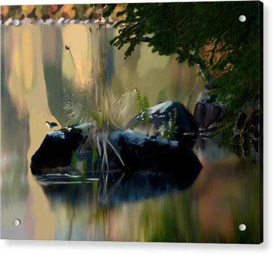 Lake At Groton Vt Acrylic Print