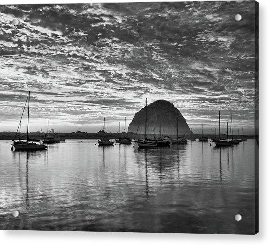 Morro Bay On Fire Acrylic Print