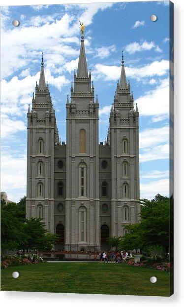 Salt Lake City Temple Photograph By Amity Kloss