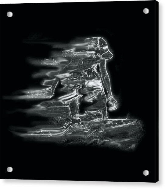 Smokin' Acrylic Print