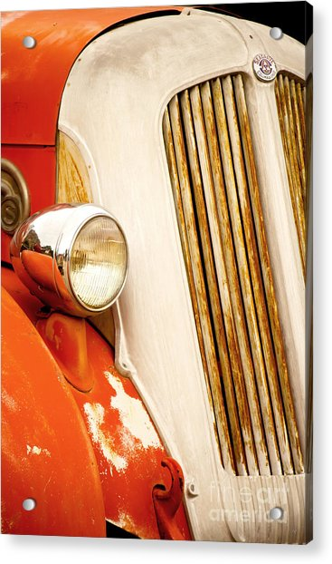 1940's Seagrave Fire Engine Acrylic Print