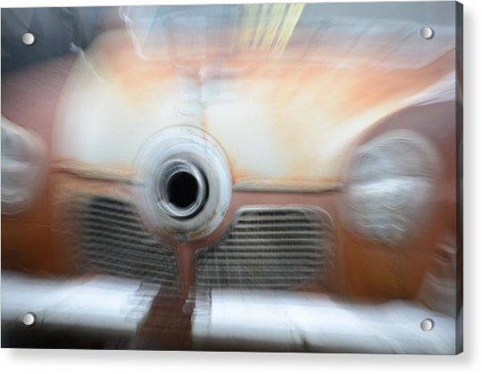 1951 Studebaker Abstract Acrylic Print