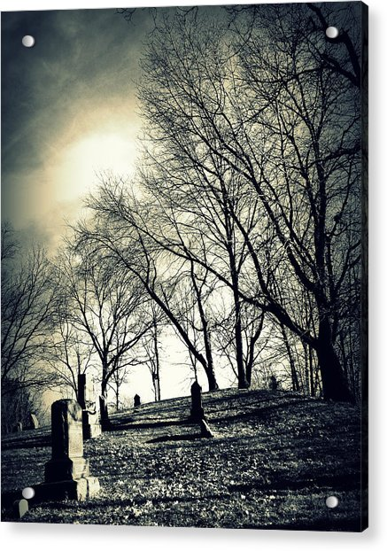 A Grave Situation Acrylic Print