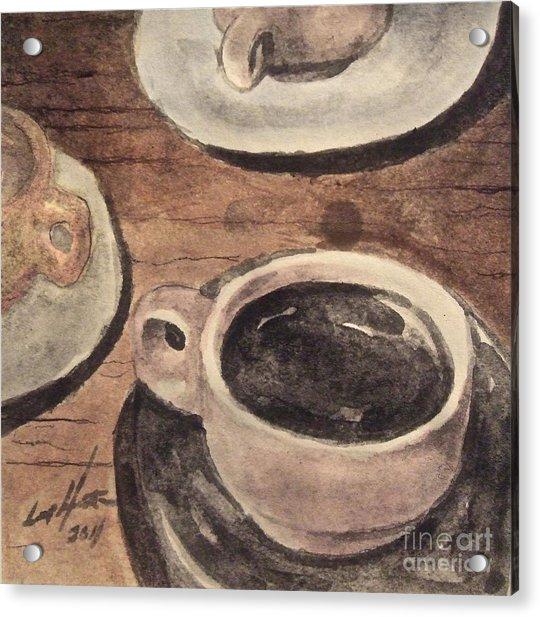 A Morning Cup Acrylic Print