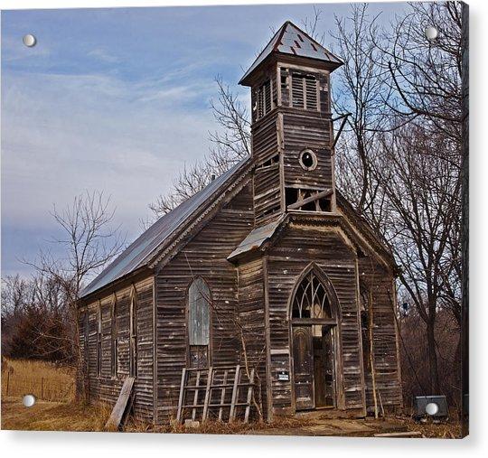 Abandoned Church Acrylic Print
