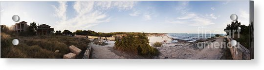 Access To The Beach Of Es Trenc Acrylic Print