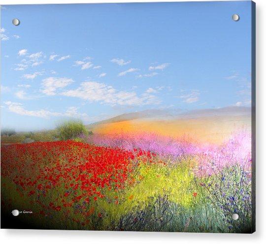 Ajofrin En Primavera Acrylic Print