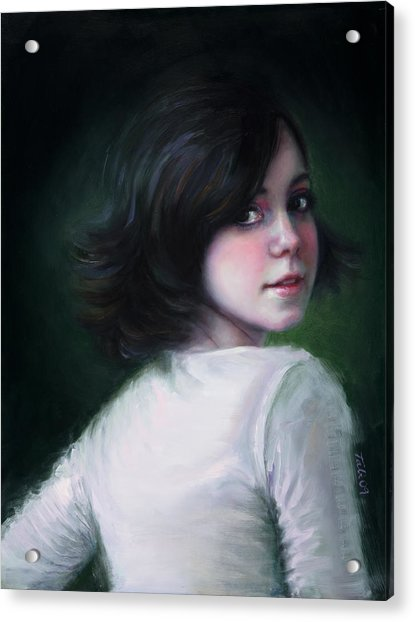 Acrylic Print featuring the painting Almost Ready by Talya Johnson