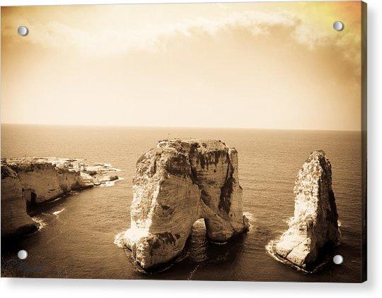 Alrawsharock Acrylic Print by Amr Miqdadi