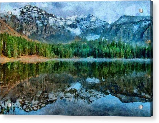 Alta Lakes Reflection Acrylic Print