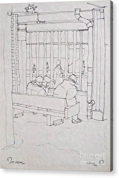 An Hour Of Waiting Acrylic Print