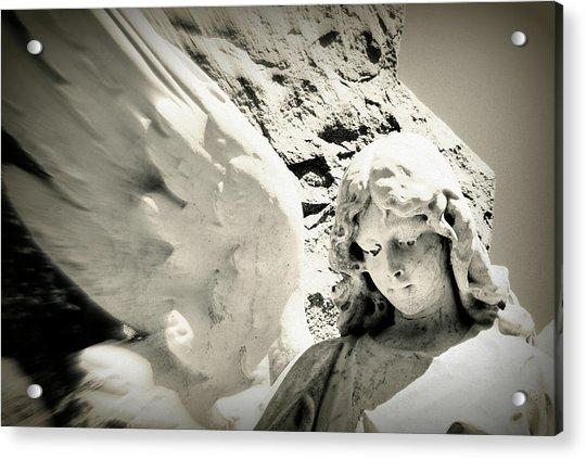 Angelic Beauty Acrylic Print