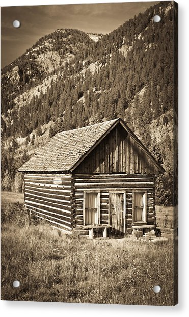 Ashcroft Ghost Town Acrylic Print
