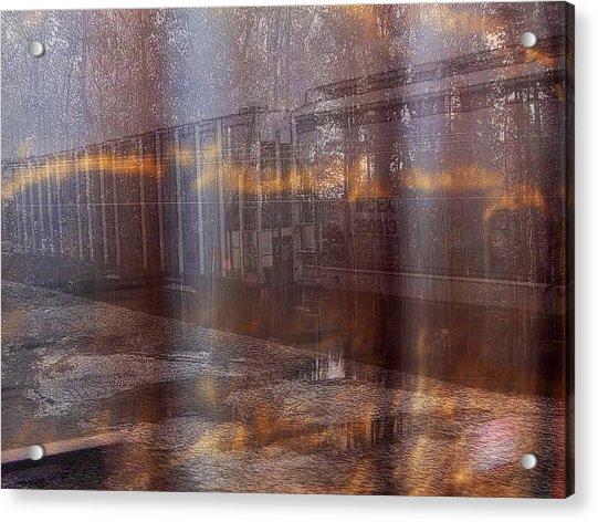 Asphalt Series - 1 Acrylic Print