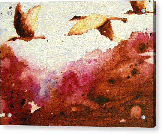 Autumn Flight Acrylic Print