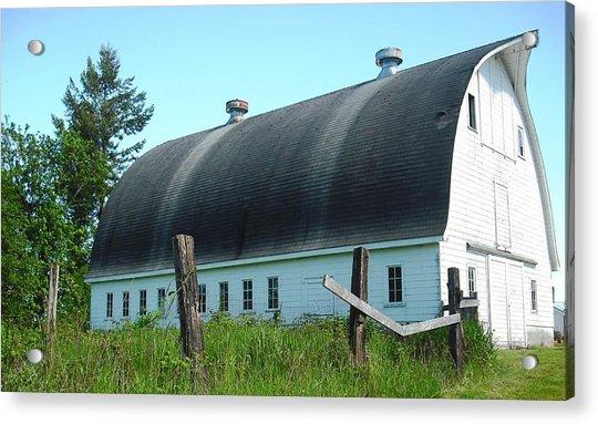 Barn In Longview Acrylic Print