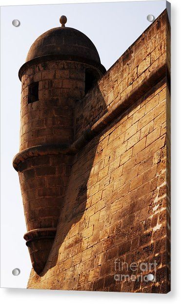 Battlement Acrylic Print