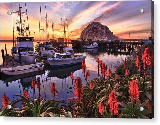 Beautiful Morro Bay Acrylic Print