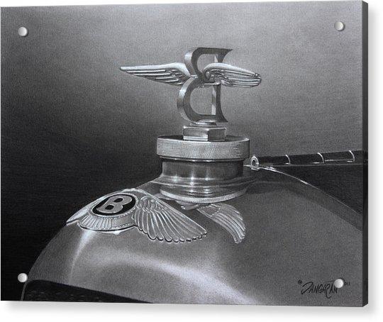 Bentley Corsica Coupe  Acrylic Print