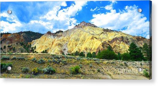Big Rock Candy Mountain - Utah Acrylic Print