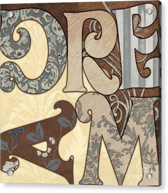 Bohemian Dream Acrylic Print