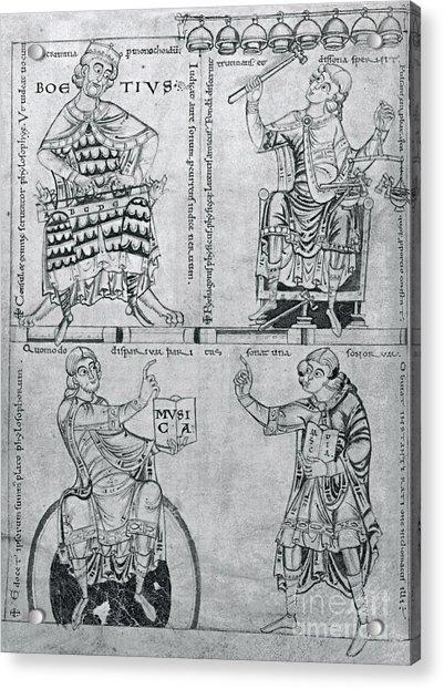 Bo�thius, Medieval Philosopher Acrylic Print