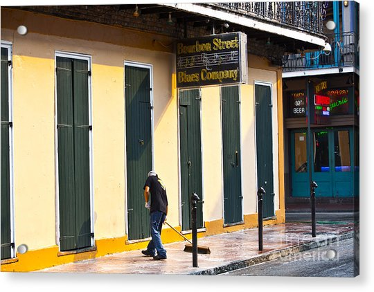 Bourbon Street Morning Acrylic Print