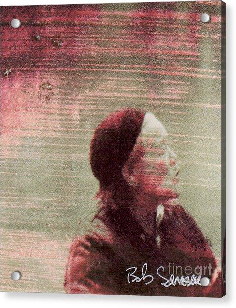 Chinese Woman Acrylic Print