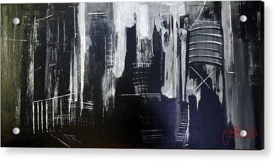 City Abstract Acrylic Print