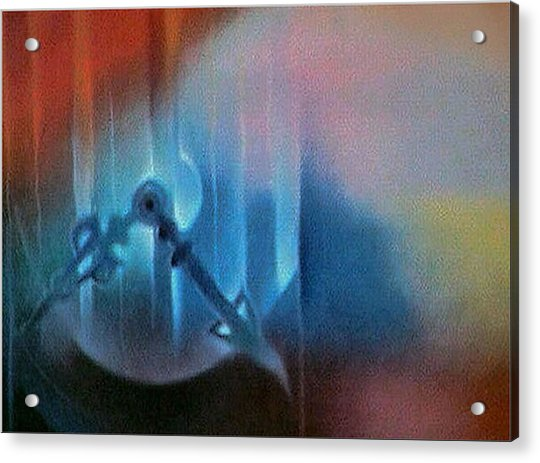 Clockscape2 1981 Acrylic Print