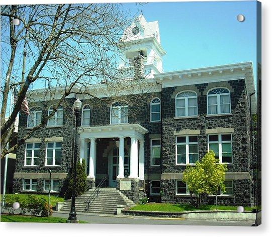 Columbia County Courthouse Saint Helens Acrylic Print