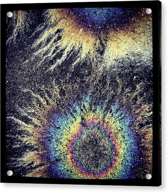 Cosmic Oil-b Acrylic Print
