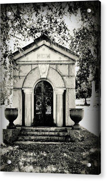 Death's Door Acrylic Print
